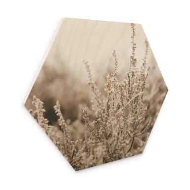 Hexagon - Holz Annie - Gräser