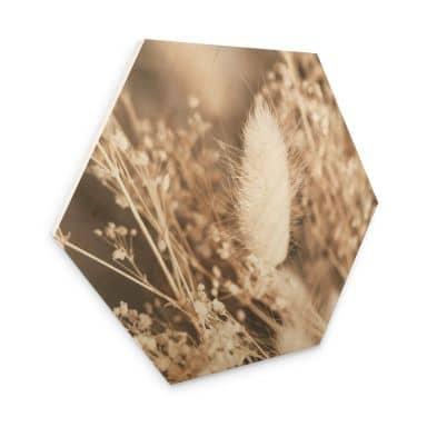 Hexagon - Holz Annie - Gräserbund