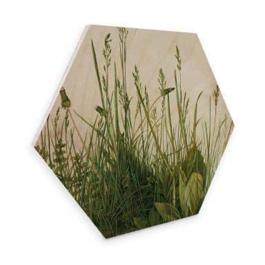 Hexagon - Holz Dürer - Das große Rasenstück