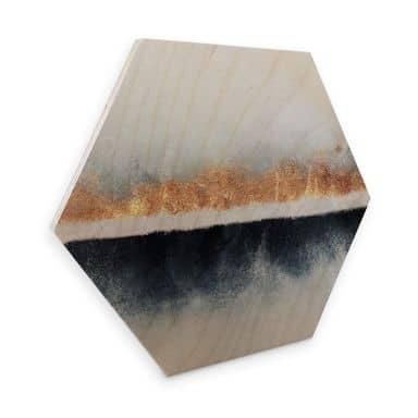 Hexagon - Holz Birke-Furnier Fredriksson - Horizont