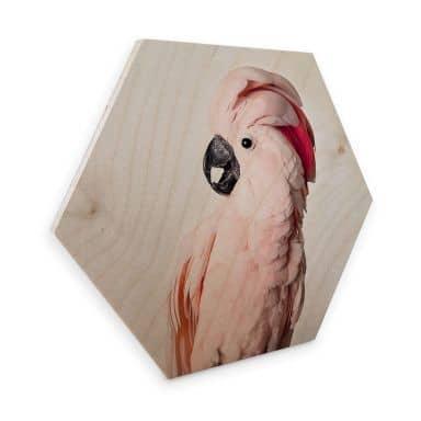 Hexagon Hout Sisi & Seb - Roze Kaketoe