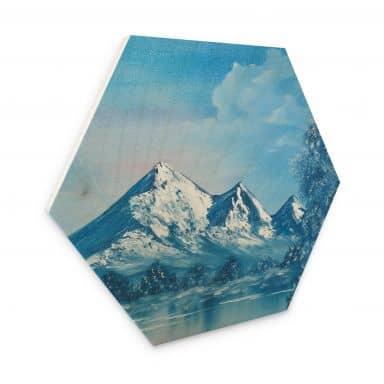 Hexagon - Holz Toetzke - Alpsee in den Bergen