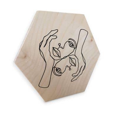 Hexagon - Birketræ - Hariri - Karisma