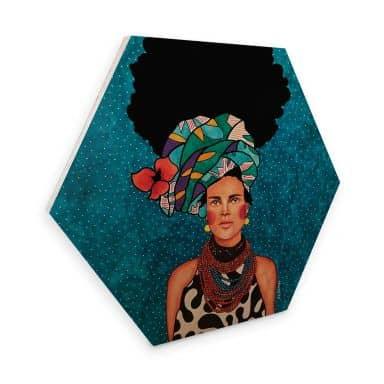 Hexagon - Holz Hülya - Was fühlst du