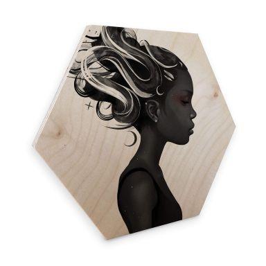 Hexagon - Holz Birke-Furnier - Ireland - Hard to say