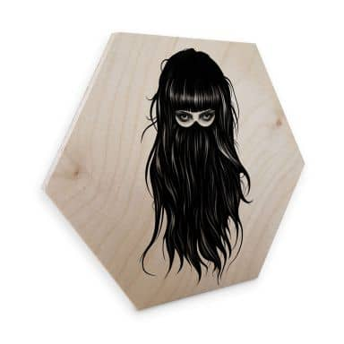 Hexagon - Holz Birke-Furnier Ireland - It-Girl