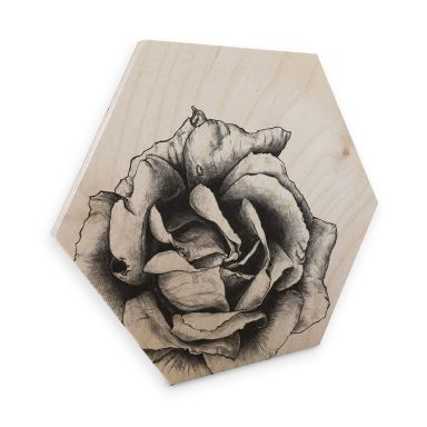 Hexagon - Holz Birke-Furnier Kools - Thornless