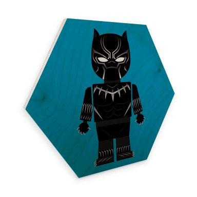 Hexagon Wood - Gomes - Black Panther toy