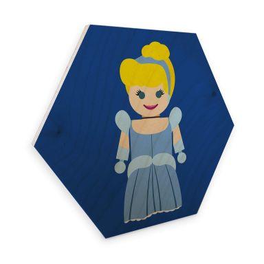 Hexagon - Holz Birke-Furnier Gomes - Cinderella Spielzeug
