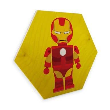 Hexagon Wood - Gomes - Iron Man toy