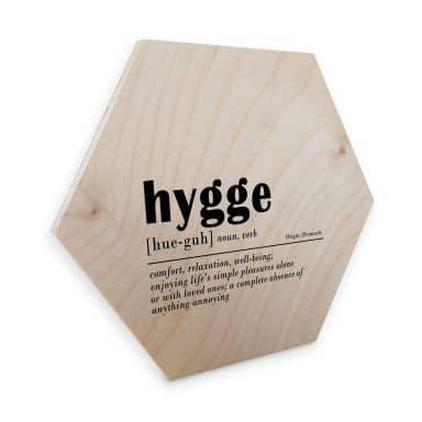 Hexagon wood Birch Veneer - Sisi & Seb - Hygge