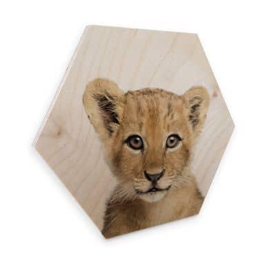 Hexagon Hout Sisi & Seb - Baby Lion