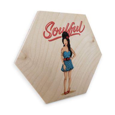 Hexagon - Wood Birch veneer Tohmé - Amy