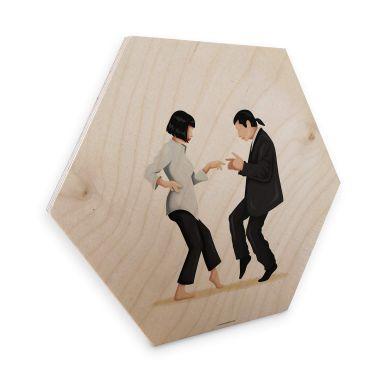 Hexagone - Placage bois de bouleau  Tohmé - Pulp Fiction
