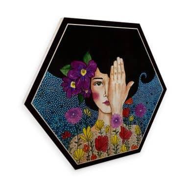 Hexagon hout - Hulya - Memories