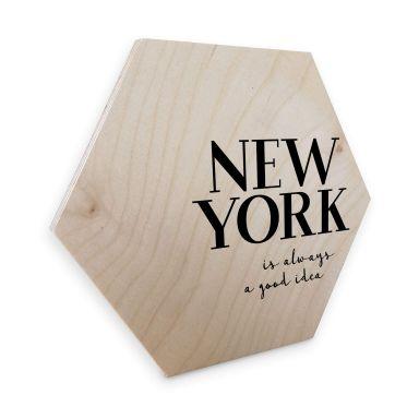 Hexagon Birch veneer - New York
