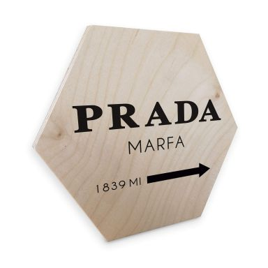Hexagon Wood Birch Veneer - Prada Marfa