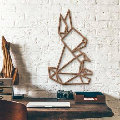 Wooden Hare – mahogany