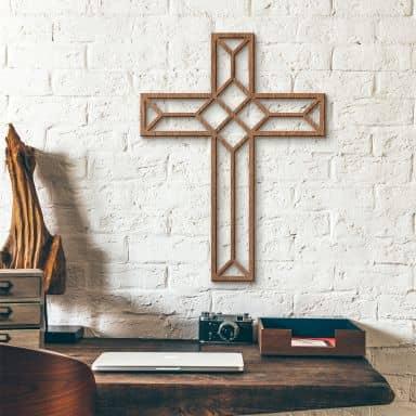 Wooden Cross – mahogany