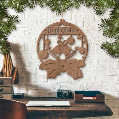 Holzkunst Mahagoni - Jingle Bells