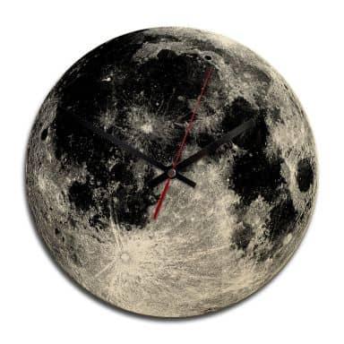 Wooden clock – Luna