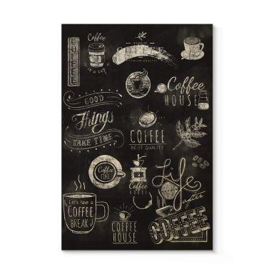Stampa su legno World of Coffee