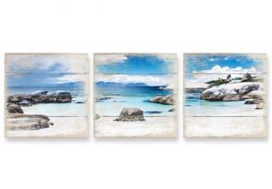 Holzbild-Set Western Cape (3-teilig)