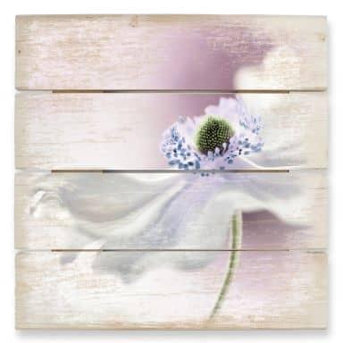 Houten Wanddecoratie Disher - Anemone Breeze