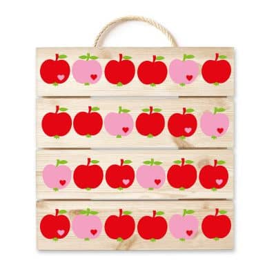 Wood - byGraziela - Red Apples