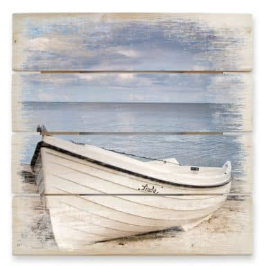 Beach Idyll - Wood Print