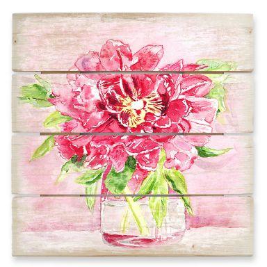 Holzbild Toetzke - Bouquet for Mavis