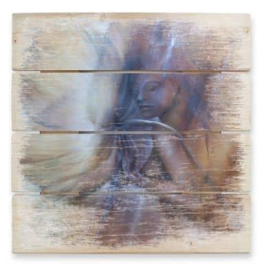 Holzbild Schmucker - Die Berührung