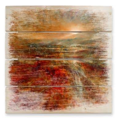 Holzbild Schmucker - Sonnenaufgang