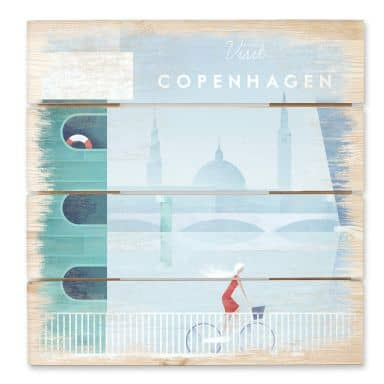 Holzbild Rivers - Kopenhagen