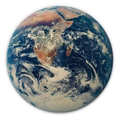 Wood circle shape - Earth complete