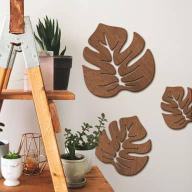Leaf 01 – mahogany
