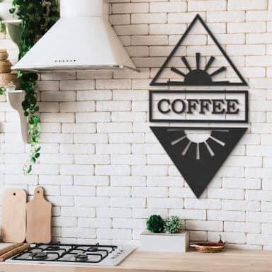 MDF - Holzdeko Coffee Tag und Nacht (9-teilig)