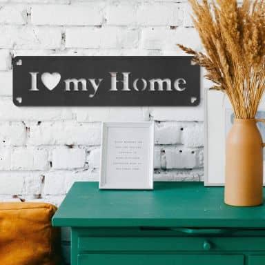 Decoro in MDF - I love my home