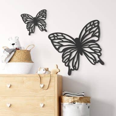 MDF - Holzdeko - Schmetterling Isabella