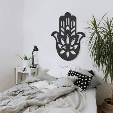 MDF - Holzdeko - Yoga Hamsa Hand