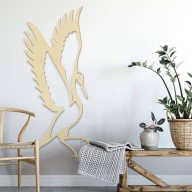 Wood - Bird - Poplar wood