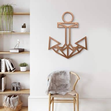 Wooden Anchor – mahogany