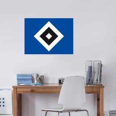 Wandtattoo HSV Logo