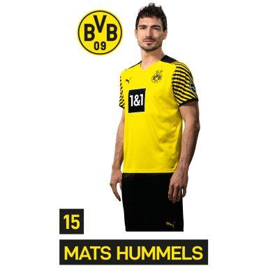 Wandsticker BVB Spieler Mats Hummels 2021