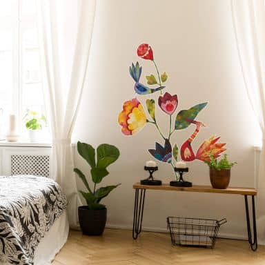 Wall sticker Blanz Flowers and Birds