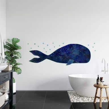 Wall sticker Blanz – Whale
