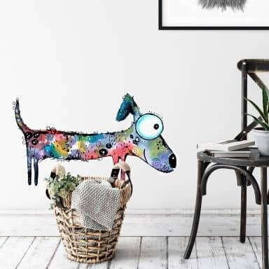 Wall sticker Hagenmeyer – Happy Dog