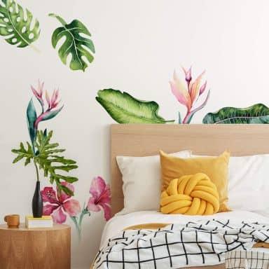 Wall sticker Kvilis - Tropical Plants