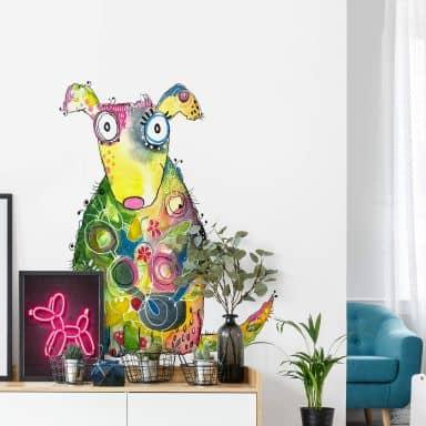 Wandtattoo Hagenmeyer - Happy Dog