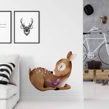 Wall sticker Blanz - Little Deer